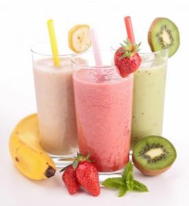 Batido frutas