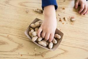 Cacahuetes snack para los peques